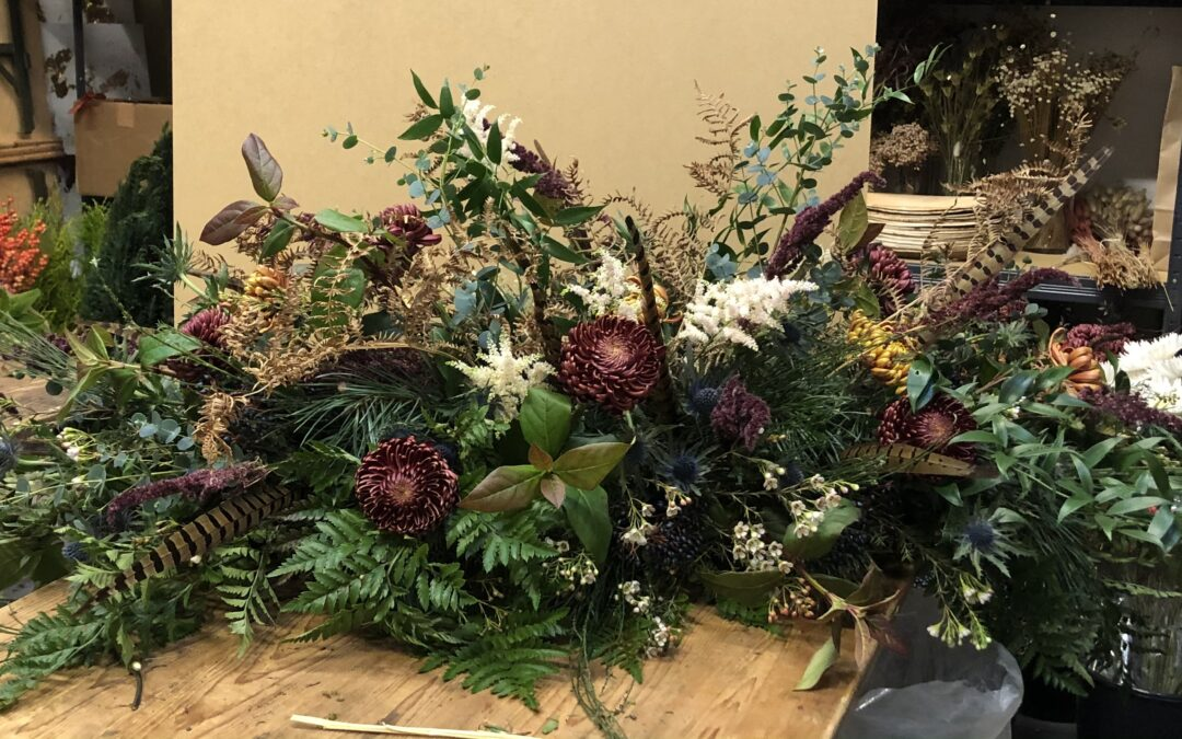Celebrating Life with Beautiful Natural Eco Flowers