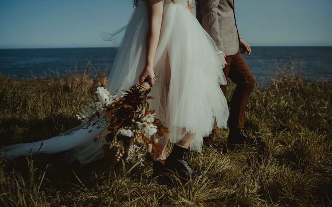 Places to elope in Scotland: dreamy coastal escape styling inspiration at The Cow Shed Crail