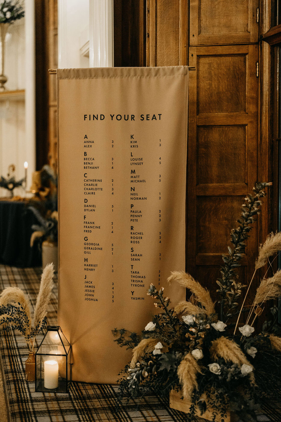 Modern styling in traditional Scotland wedding venues