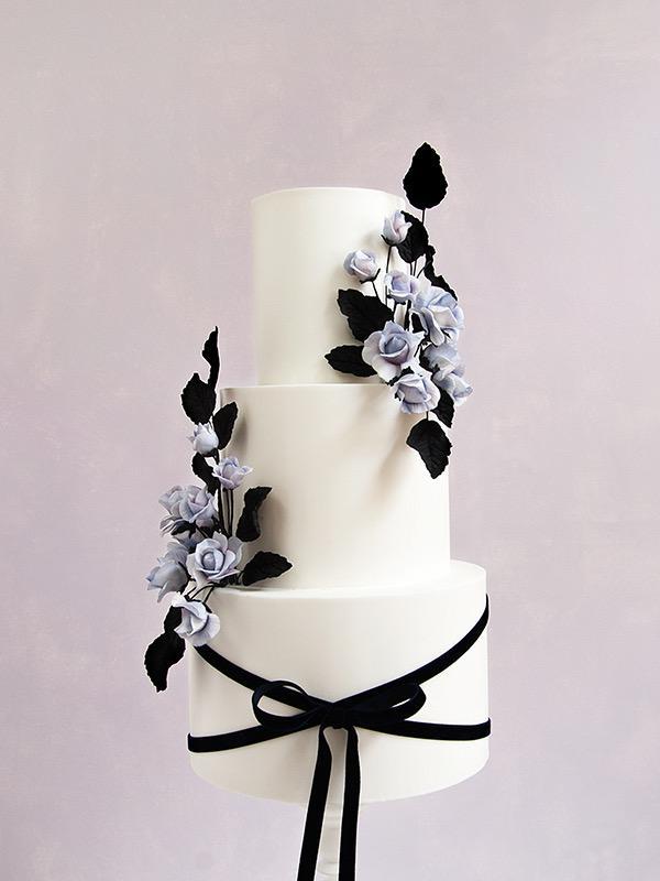 Scottish wedding cake design