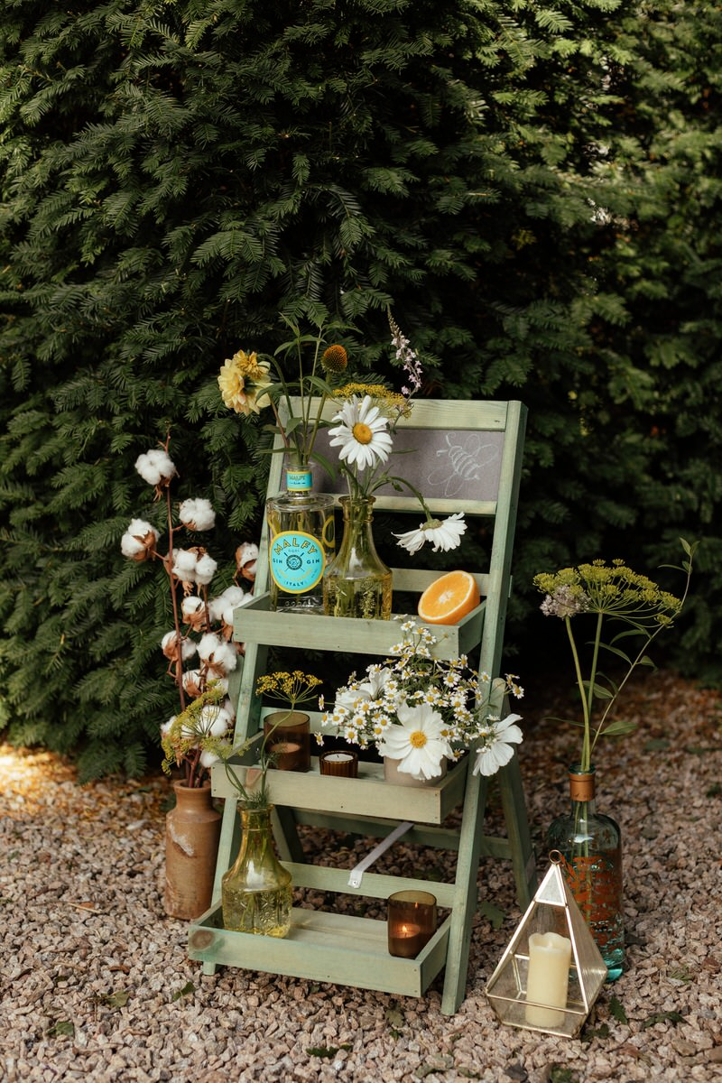 dreamy back garden wedding