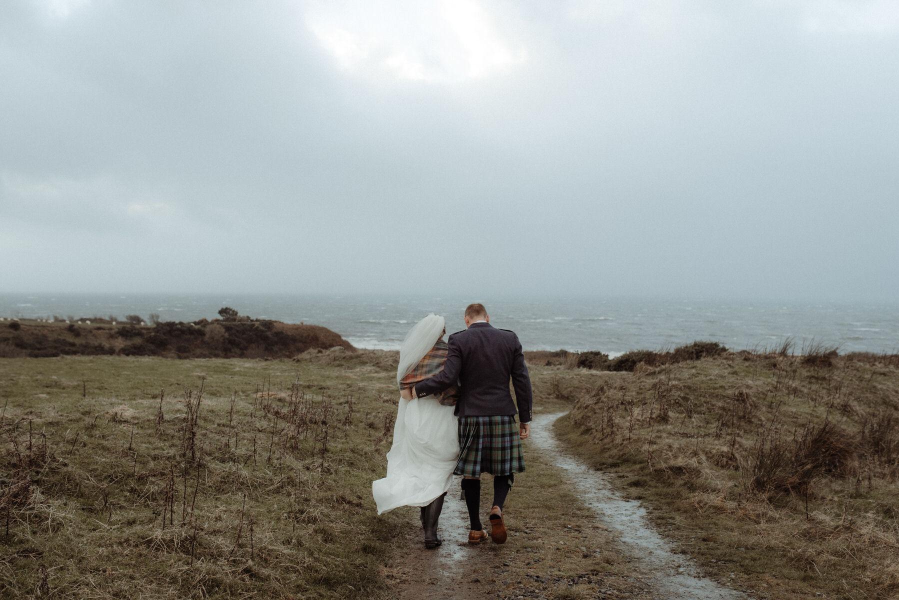 Autumnal Romantic Scottish Wedding