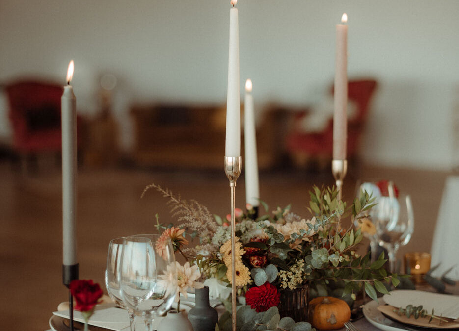 A Crear Wedding with Romantic, Autumnal Scottish Wedding Styling