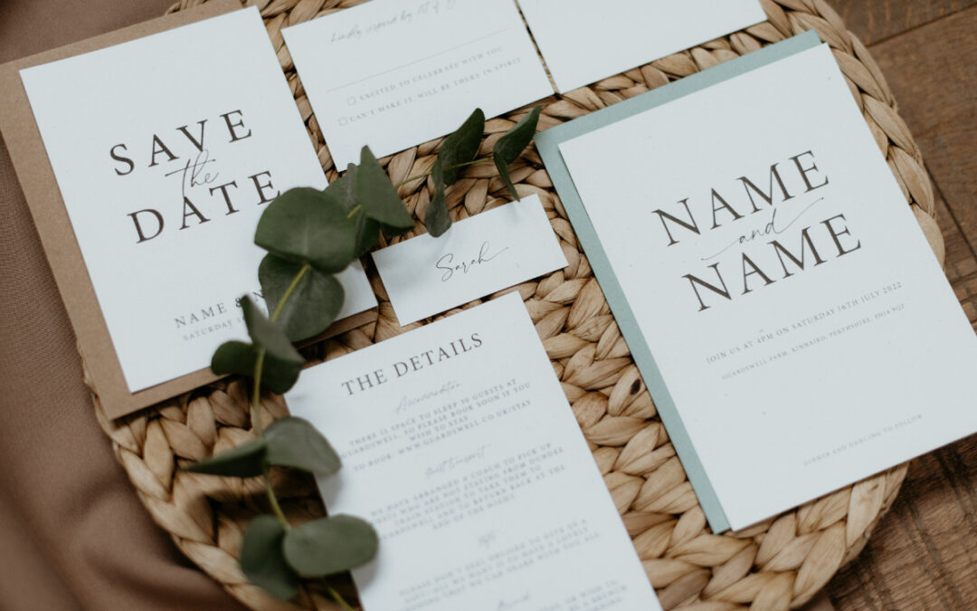Modern Wedding Stationery: our ultimate guide