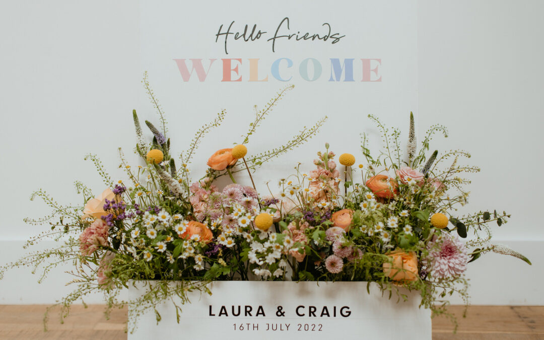 On-the-day wedding stationery advice from Mercedes of Scarlett and Bell