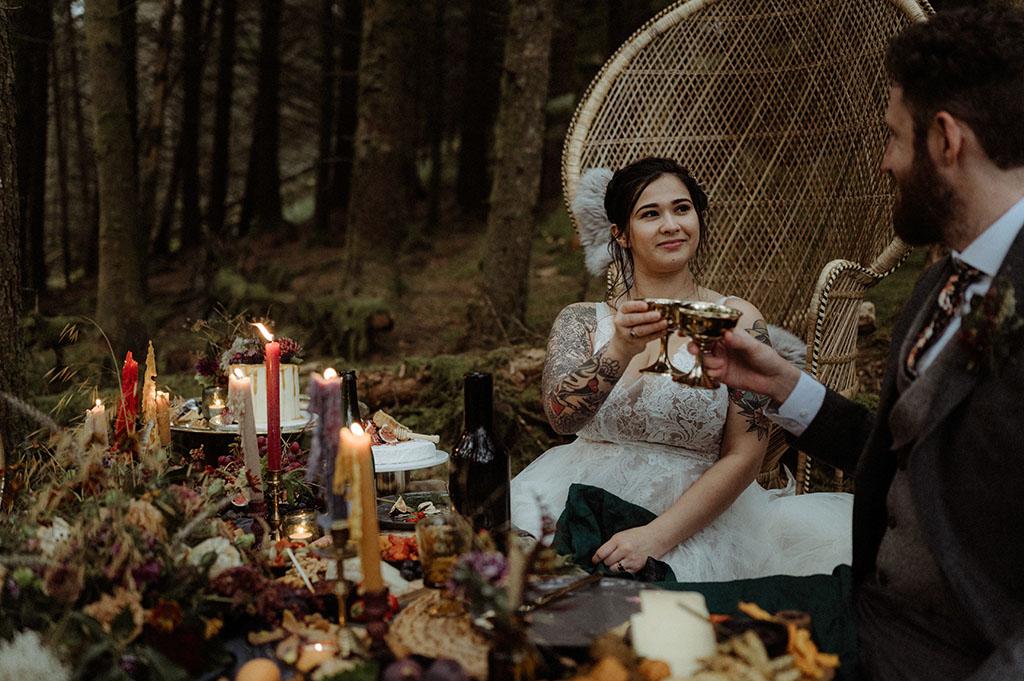 Highlands wedding