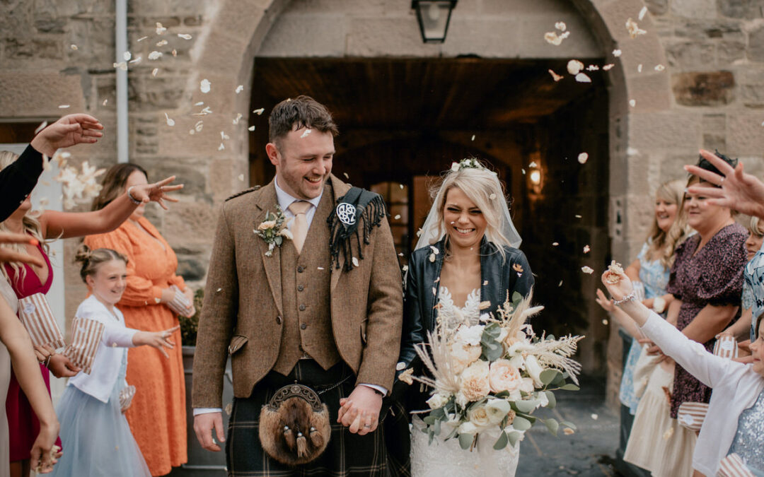 Aswanley Wedding With A Romantic Outdoors Ceremony and Intimate Boho Reception